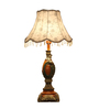 Lightspro Off White Fabric Table Lamp