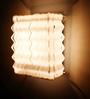Pela Wall Light in White by Casacraft