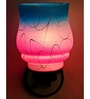Lime Light Pink and Blue Glass Wall Mounted Light