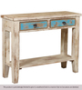 Linkin Console Table in Distress Finish by Bohemiana