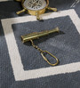 Little India Brown Brass Pure Handcrafted Telescope in Key Chain