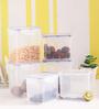 Lock&Lock Classic Transparent Plastic Container - Set of 6
