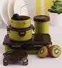 Lock&Lock Green Plastic Container - Set of 4