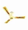 Luminous Play 1200mm Yellow Car Ceiling fan