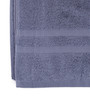 Lushomes Navy Cotton 27 x 55 Bath Towel