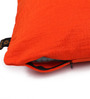 Lushomes Orange Polyester 16 x 16 Inch Embossed Blackberry Cushion Cover - Set of 2