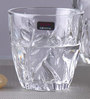 Lyra Crystal Garden DOF 355 ML Whisky Tumbler Glasses - Set of 6