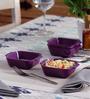 Machi Magica Purple Melamine 250 ML Bowl - Set Of 4