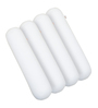 Magasin White Memory Foam 23 x 5.5 Inch Round Small Bolster Insert - Set of 4