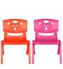 Magic Bear Chair Set of 2 Pieces in Red and Pink Colour by Sunbaby