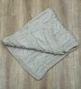 Magic Needles Exclusive Cable Blanket in Beige Colour