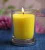 Maison Collection Vanilla Premier Yellow Jar Candle