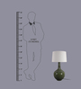 Manuela Table Lamp in Off White by CasaCraft