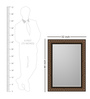 Marcela Minimalist Mirrors in Copper by CasaCraft