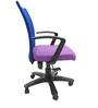 Marina Office Ergonomic Chair in Purple Colour by Chromecraft