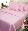 Mark Home Pink Solids Cotton Queen Size Duvet Cover 1 Pc
