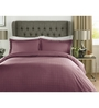 Mark Home Wine Checks Cotton King Size Bed Sheet - Set of 3