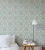 Marshalls Wallcoverings Blue & Gold Non Woven Paper Wallpaper