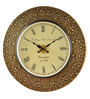 Marwar Stores Multicolour MDF 18 Inch Round Wall Clock