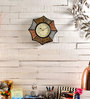 Marwar Stores Multicolour MDF 18 x 2 x 18 Inch Star Shaped Wall Clock