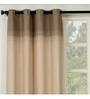 Maspar Beige Cotton 108 x 46 Inch Solid Door Curtain - Set of 2