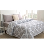 Maspar Grey Fabric Single Size Quilt