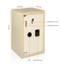 Master Safe MS-11 Premium Mild Steel Electronic Safe with Key