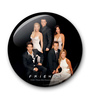 MC SID RAZZ Multicolour Metal Official Friends Black Tie Fridge Magnet Licensed by Warner Bros USA