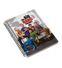 MC SID RAZZ Multicolour Paper Official The Big Bang Theory Season 3 Notebook Licensed by Warner Bros USA