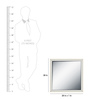 Miguel Minimalist Mirrors in Silver by CasaCraft