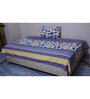 Misona World Cotton Single Bedsheet in Multicolour
