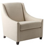 Modern Styled Accent Chair with Montgomerry Style Arms by Afydecor