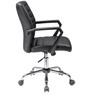Moore Ergonomic Chair in Black Colour by Oblique