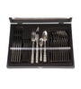 Mullich Samueal Silver Steel Cutlery Set - Set of 24