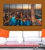 Multiple Frames city tower art panels like Painting - 6 Frames
