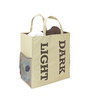 My Gift Booth Non-Woven 15 L Beige Laundry Basket