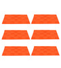 My Gift Booth Orange Felt Placemats - Set of 6
