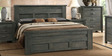 Natalia Queen Size Bed in Wenge Finish by CasaCraft