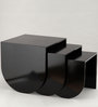 Nested Tables in Black Colour by Indecrafts