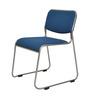 Nilkamal Contract Blue Fabric Chair