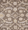 Obeetee Grey Wool 96 x 60 Inch Maya Persian Carpet