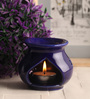 Gupta Glass Gallery Blue Ceramic Reed Diffuser