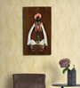 Olha-O Multicolour Wood and Wrought Iron Musician Alluring Wall Hanging - Set of 2