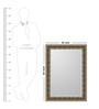 Olympus Minimalist Mirrors in Gold by CasaCraft