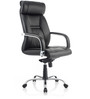 Opal High Back Executive Chair in Black Colour by Oblique