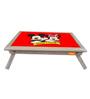 Licensed Mickey & Minnie Digital Printed Folding Laptop Table by Orka
