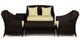 Outdoor Sofa Set (3S + 1S + 1S + CT + ST) by Svelte