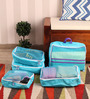Packnbuy Nylon Blue 5-piece Bags in Bag Travelling Bag Set