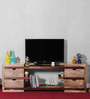 Palouse Entertainment Unit in Dual Tone Finish by Woodsworth