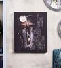 Pannaa Canvas 10 x 1 x 12 Inch Long Ride Framed Poster